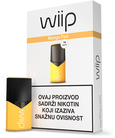 Wiipod Mango 18 mg/ml